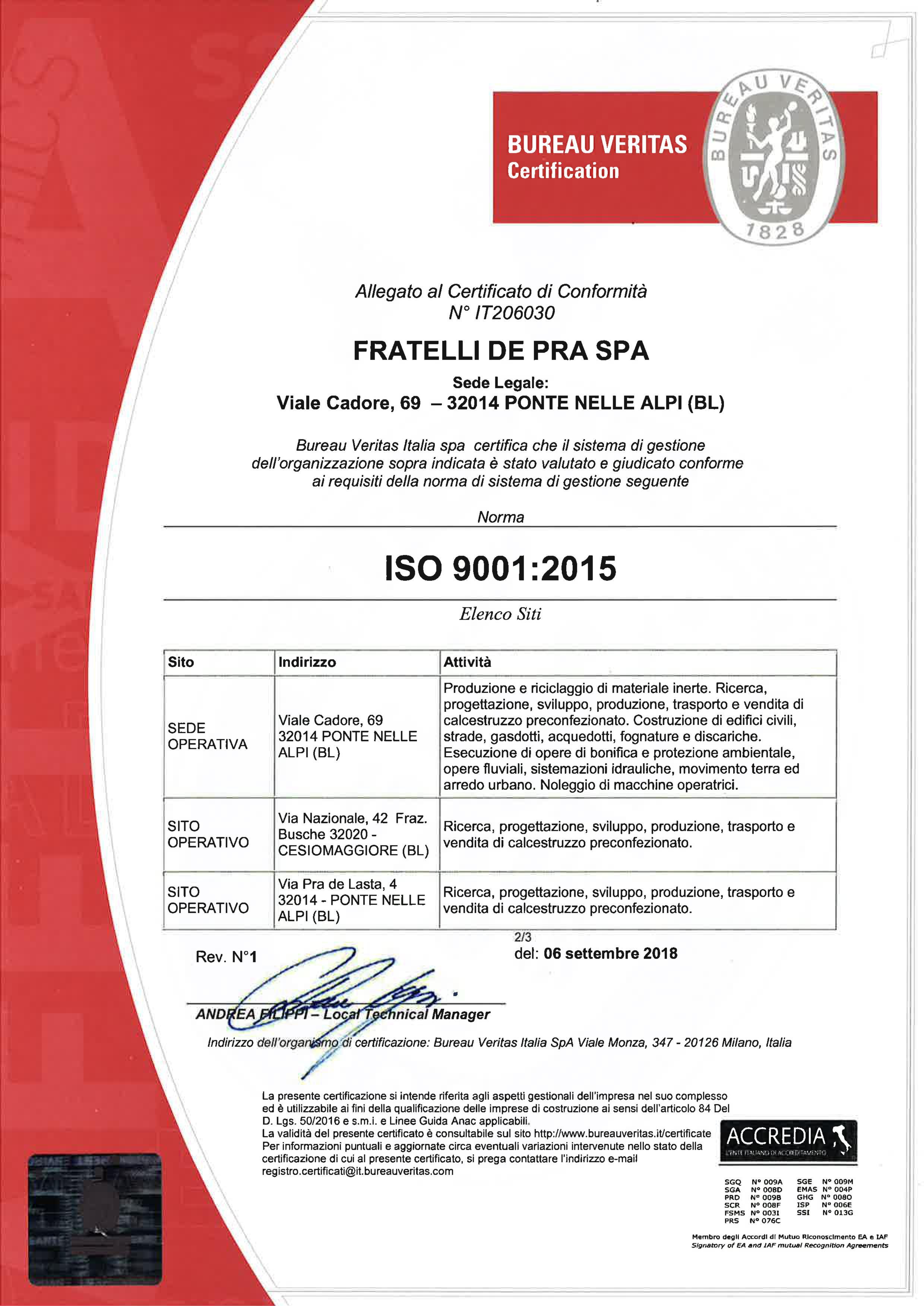DE PRA 9001 2015 2