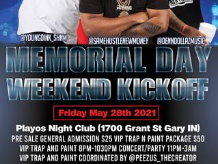 Same Hustle New Money Memorial Day Weekend Kickoff