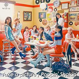 NiziU 「Take a picture / Poppin' Shakin'」 (Single CD) [2021/04/07]