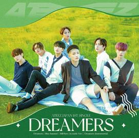 ATEEZ「Dreamers」 (Single CD) [2021/7/28]