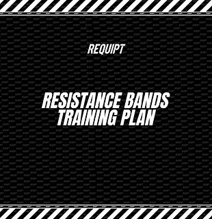 Full Body Resistance Band Training Plan