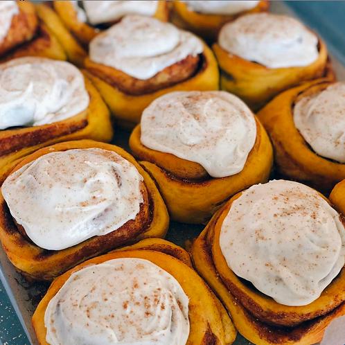 Pumpkin Spice Cinnaroules