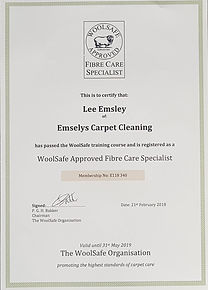 Emsley's carpet cleaning, Training