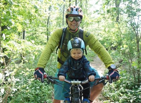 2 Bikes, 3 Rider - Wie unser Familien-Bikeabenteuer begann...