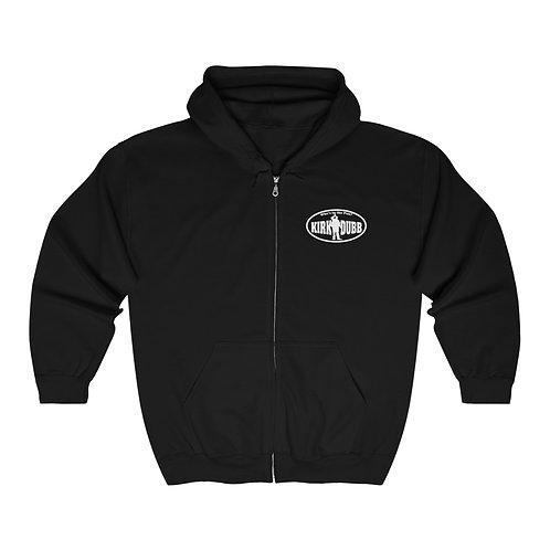 "Kirk Dubb ""Who's in the Pub?"" Unisex Heavy Blend™ Full Zip Hooded Sweatshirt"