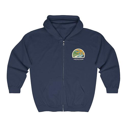 Lincoln Park - Unisex Heavy Blend™ Full Zip Hooded Sweatshirt