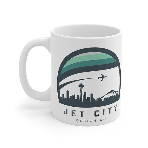 Jet City Design Co Mug 11oz