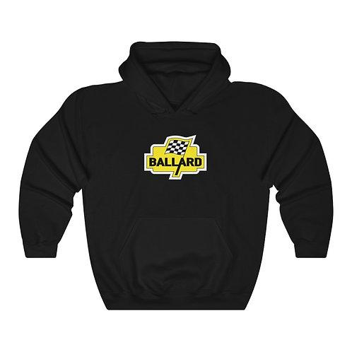 Ballard Checkered Flag - Unisex Heavy Blend™ Hooded Sweatshirt