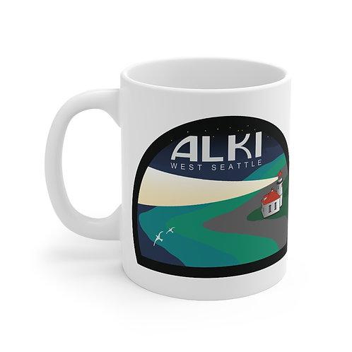 Alki Lighthouse Mug 11oz