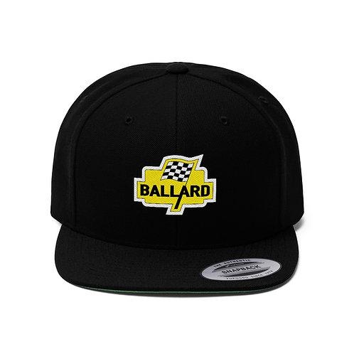Ballard Unisex Flat Bill Hat