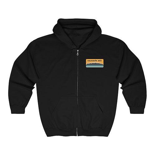 Cascade Mountains - Unisex Heavy Blend™ Full Zip Hooded Sweatshirt