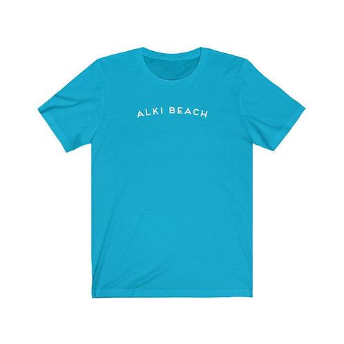Alki Beach - Unisex Jersey Short Sleeve Tee