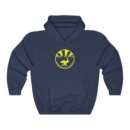 Beware of the Rabbit - Unisex Heavy Blend™ Hooded Sweatshirt