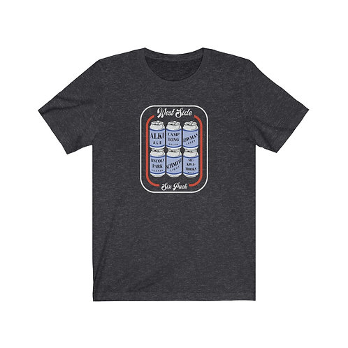 West Seattle 6-Pack of Parks - Unisex Jersey Short Sleeve Tee