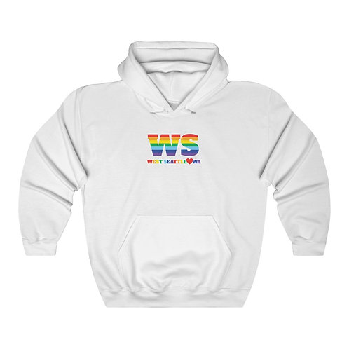 West Seattle Rainbow - Unisex Heavy Blend™ Hooded Sweatshirt