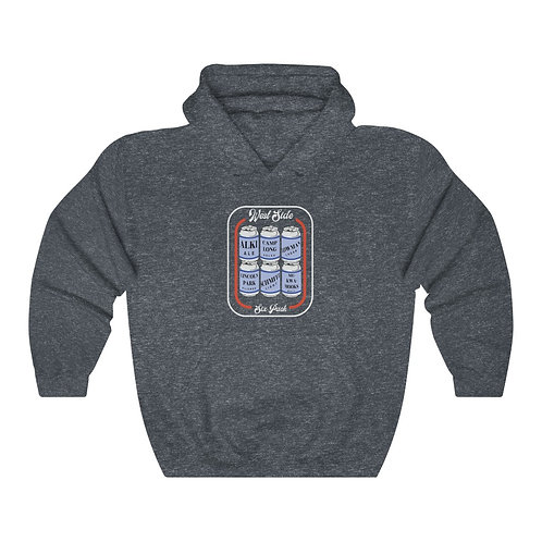 West Seattle 6-pack - Unisex Heavy Blend™ Hooded Sweatshirt
