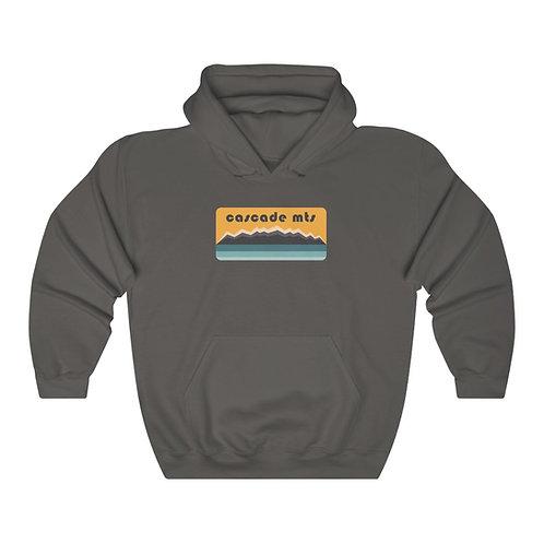 Cascade Mountains - Unisex Heavy Blend™ Hooded Sweatshirt