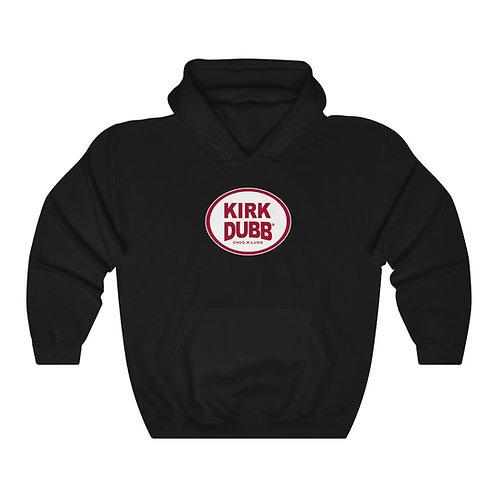 Kirk Dubb Chug a Lugg Black Unisex Heavy Blend™ Hooded Sweatshirt