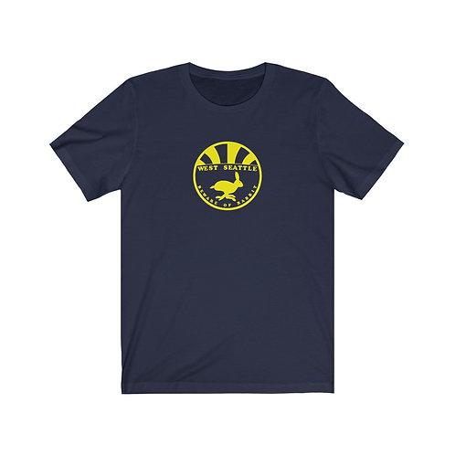 West Seattle Rabbits! - Unisex Jersey Short Sleeve Tee