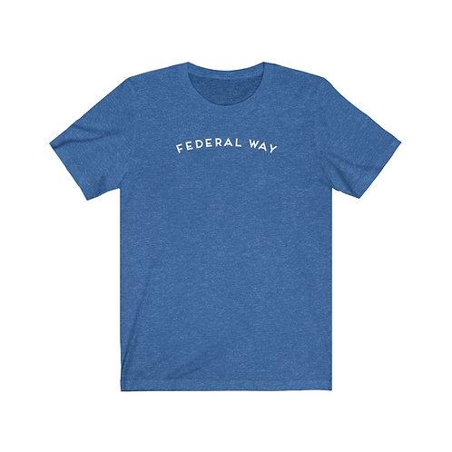 Federal Way - Unisex Jersey Short Sleeve Tee