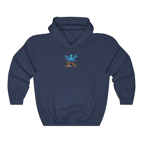 Seamonster Hockey Goalie - Unisex Heavy Blend™ Hooded Sweatshirt