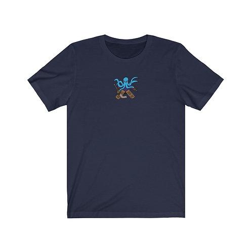Seamonster Hockey Goalie - Unisex Jersey Short Sleeve Tee