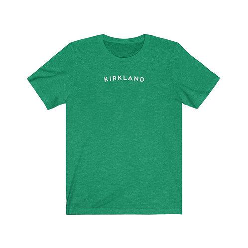 Kirkland - Unisex Jersey Short Sleeve Tee