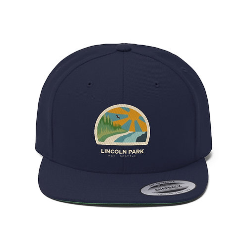 Lincoln Park Unisex Flat Bill Hat