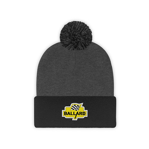 Ballard Checkered Flag - Pom Pom Beanie