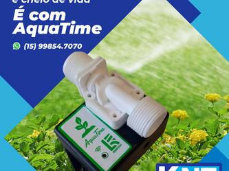 Seu Jardim Bem Cuidado e Cheio de Vida | É com Aquatime!