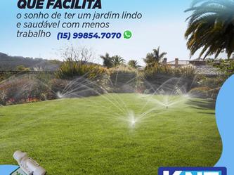 Kit de Irrigação que Facilita o Sonho de Ter um Jardim Lindo e Saudável com Menos Trabalho