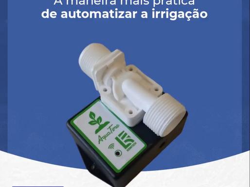 AquaTime Temporizador Digital para Irrigação - É comodidade, praticidade e economia para você!