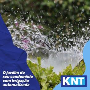 Jardim do Seu Condomínio com Irrigação Automatizada