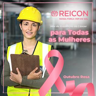 Outubro Rosa, mês de conscientização para prevenção do Câncer de Mama🎗️
