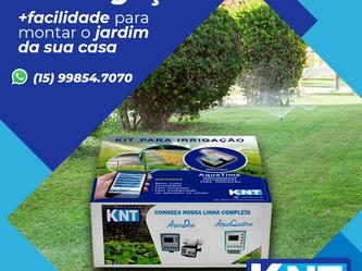 Kit Irrigação | + Facilidade para Montar o Jardim da Sua Casa