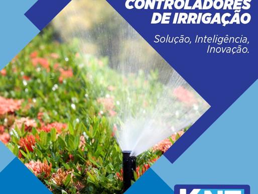 Linha de Controladores de Irrigação - Solução, Inteligência, Inovação