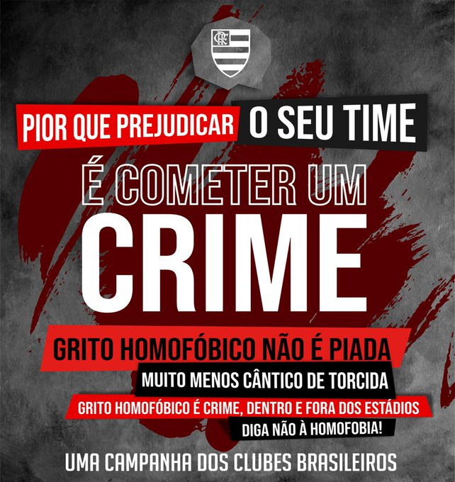 Flamengo contra homofobia