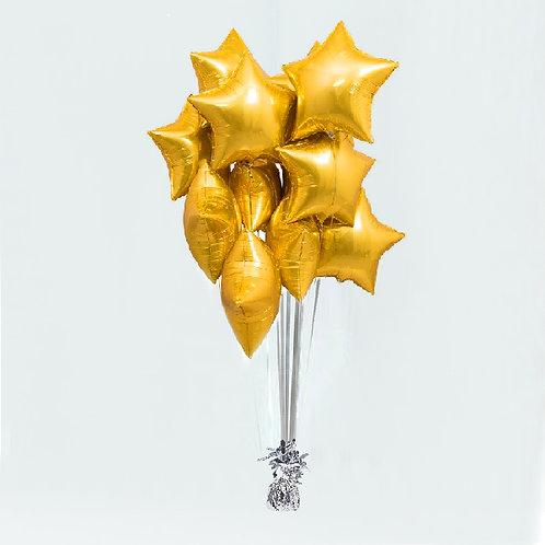 """Balloons Bouquet """"Star"""""""
