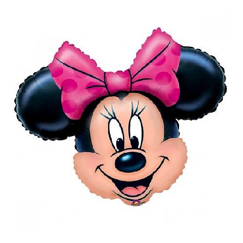 """28"""" Minnie Mouse Head Balloon"""