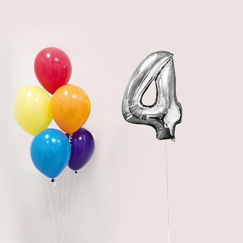 """Balloons Bouquet """"Good luck"""""""