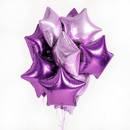 "Balloons Bouquet ""Starry Sky"""