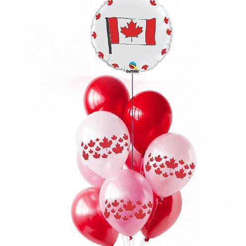 """Balloons Bouquet """"Canada"""""""