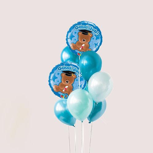 """Balloons Bouquet """"Good Job"""""""