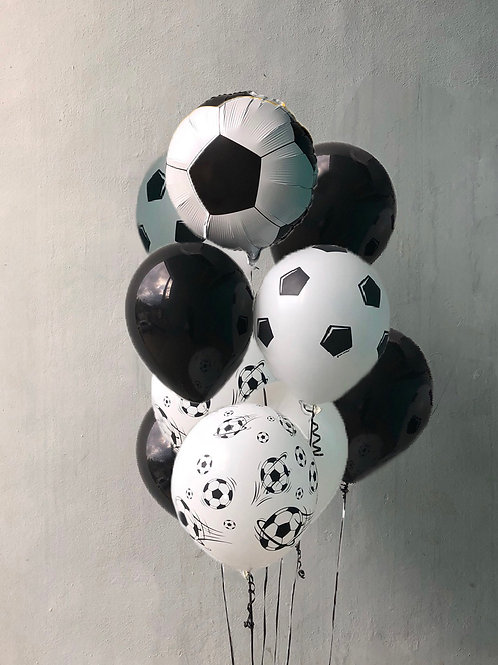 "Balloons Bouquet ""Football"""