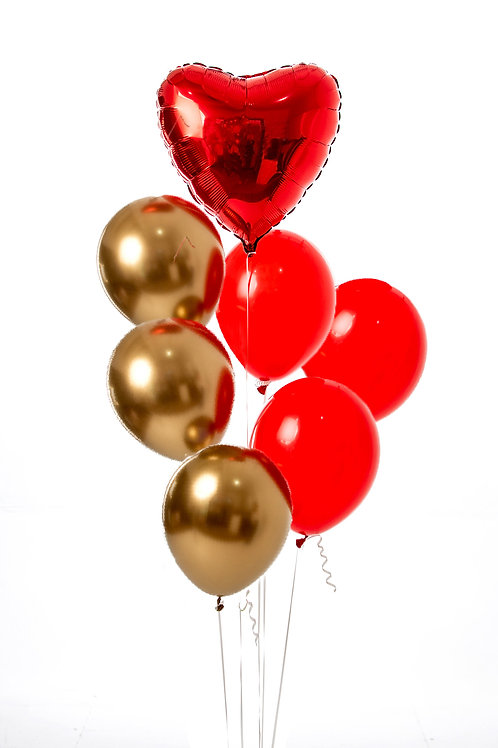 "Balloons Bouquet ""I Love You"""