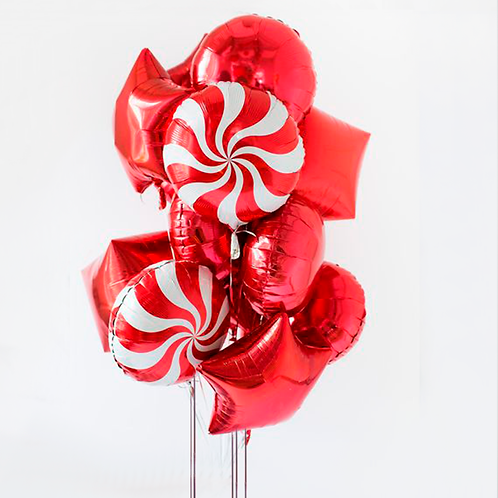 """Balloons Bouquet """"Red Sweets"""""""