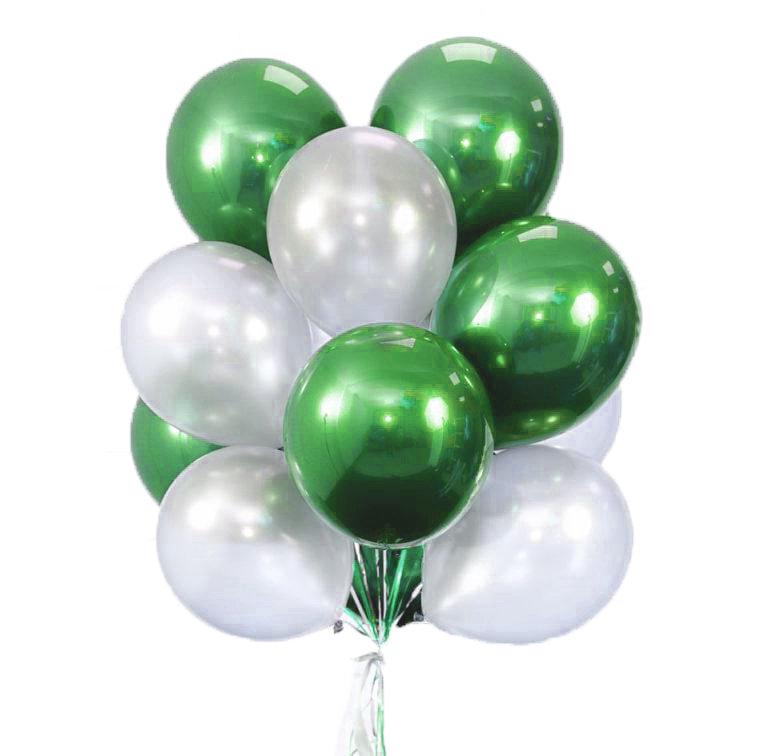 "Balloons Bouquet ""Green Lake"""