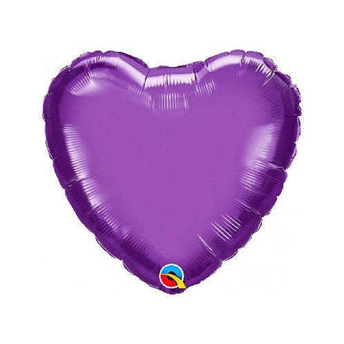 "18"" Chrome Purple Heart"