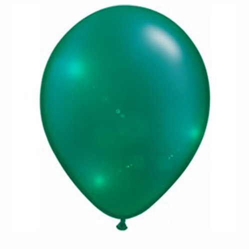 16' Latex Balloons Green