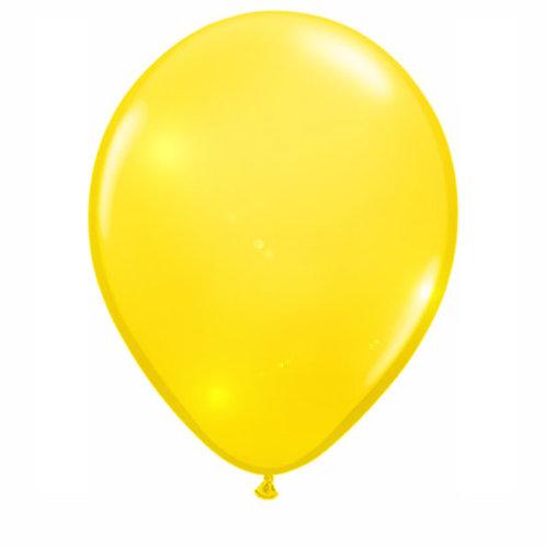 16' Qualatex Latex Balloons Yellow